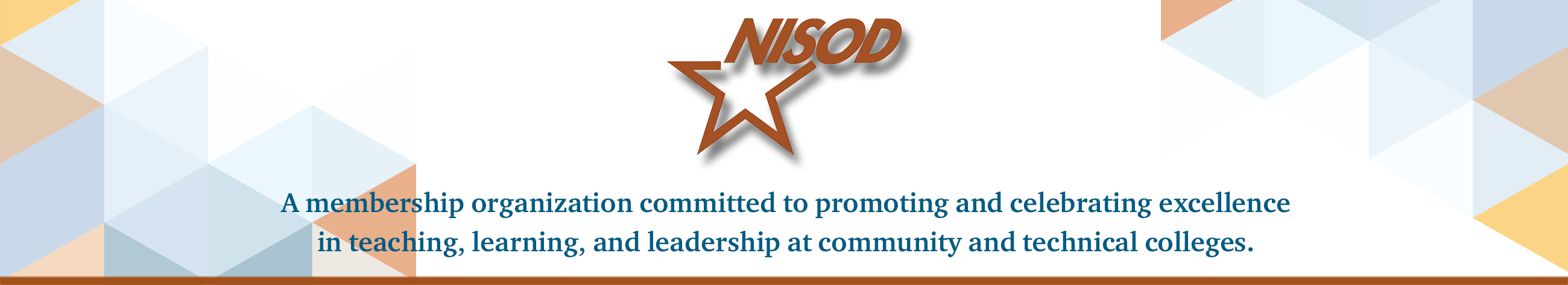 NISOD Logo and Header