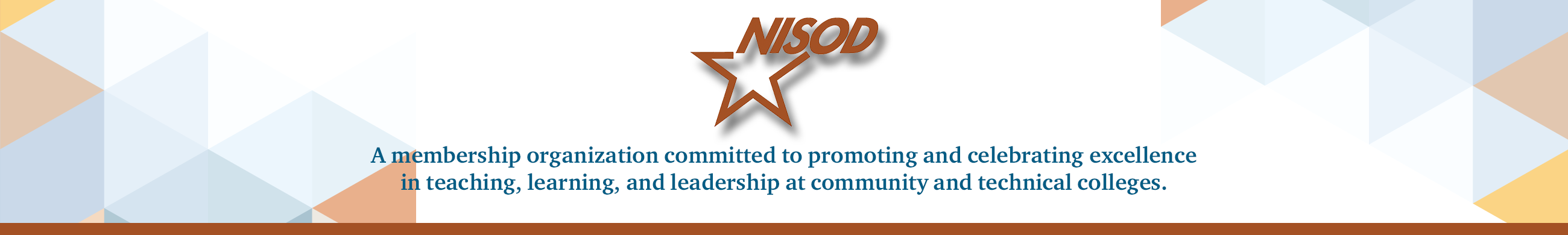 NISOD Logo and Header