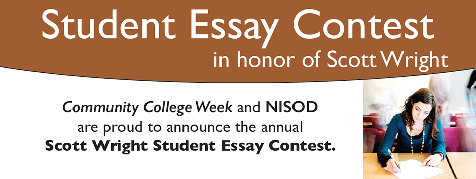 community college week - nisod student essay contest