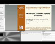 Webinar Preview - Instructional Strategies