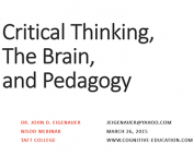 Webinar Preview - Critical Thinking