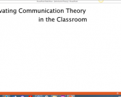 Webinar Preview - Activating Communication Theory