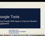 Webinar Preview - Using Google Web Apps