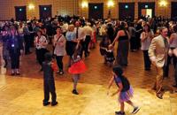 Young kids dancing! photo