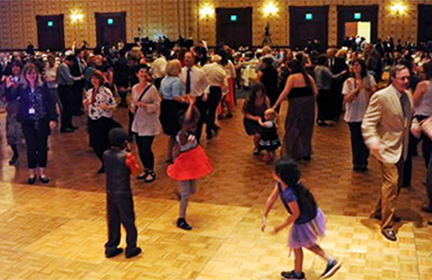 Excellence Awards Dinner and Celebration dancing
