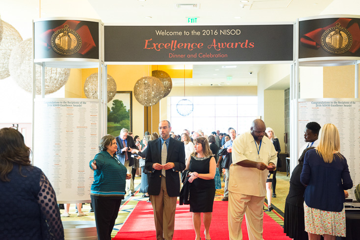 Excellence Awards entrance