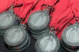 Excellence Award Medallions ready for distribution!