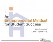 Webinar Preview - An Entrepreneurial Mindset