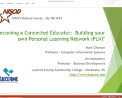 Webinar Preview - Becoming a Connected Educator