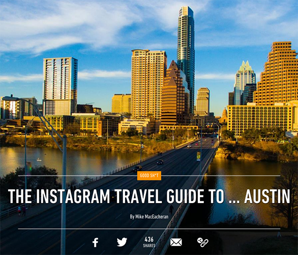THE INSTAGRAM TRAVEL GUIDE TO … AUSTIN