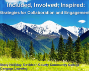 Included, Involved, Inspired: Strategies for Collaboration and Engagement Preview