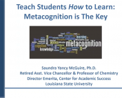 Metacognition Is The Key preview