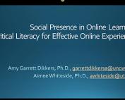 Social Presence Webinar preview