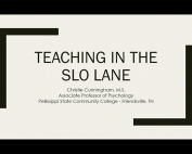 Teaching in the SLO Lane preview