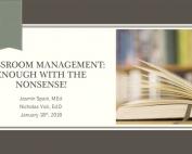 Classroom Management Webinar preview