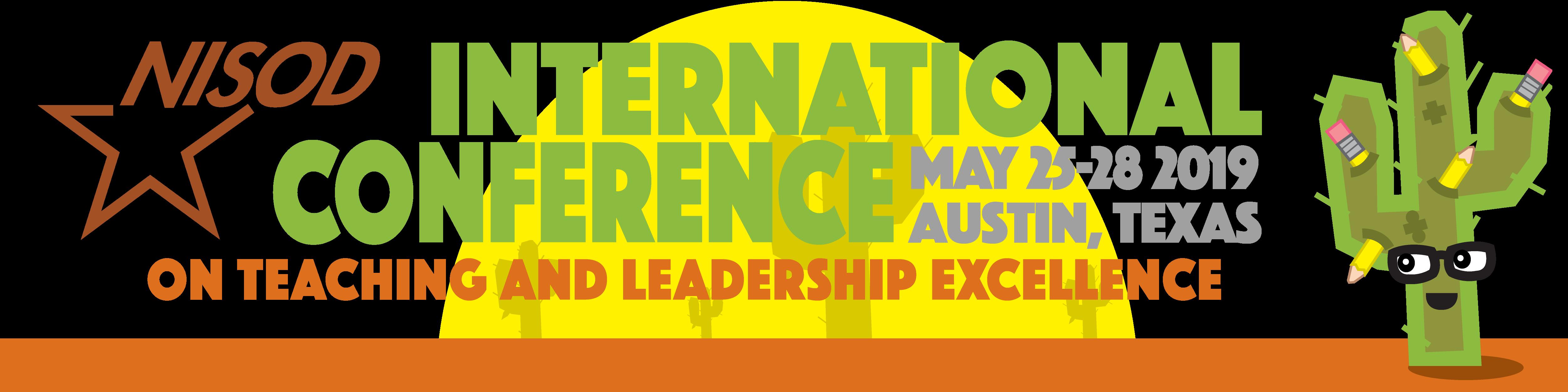 2019 NISOD Conference Banner image
