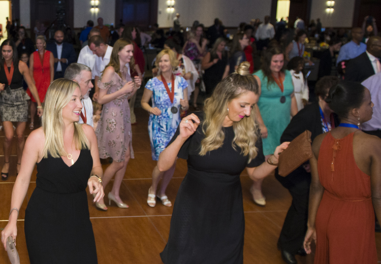 2018 NISOD Excellence Award Dinner and Celebration dance photo 1