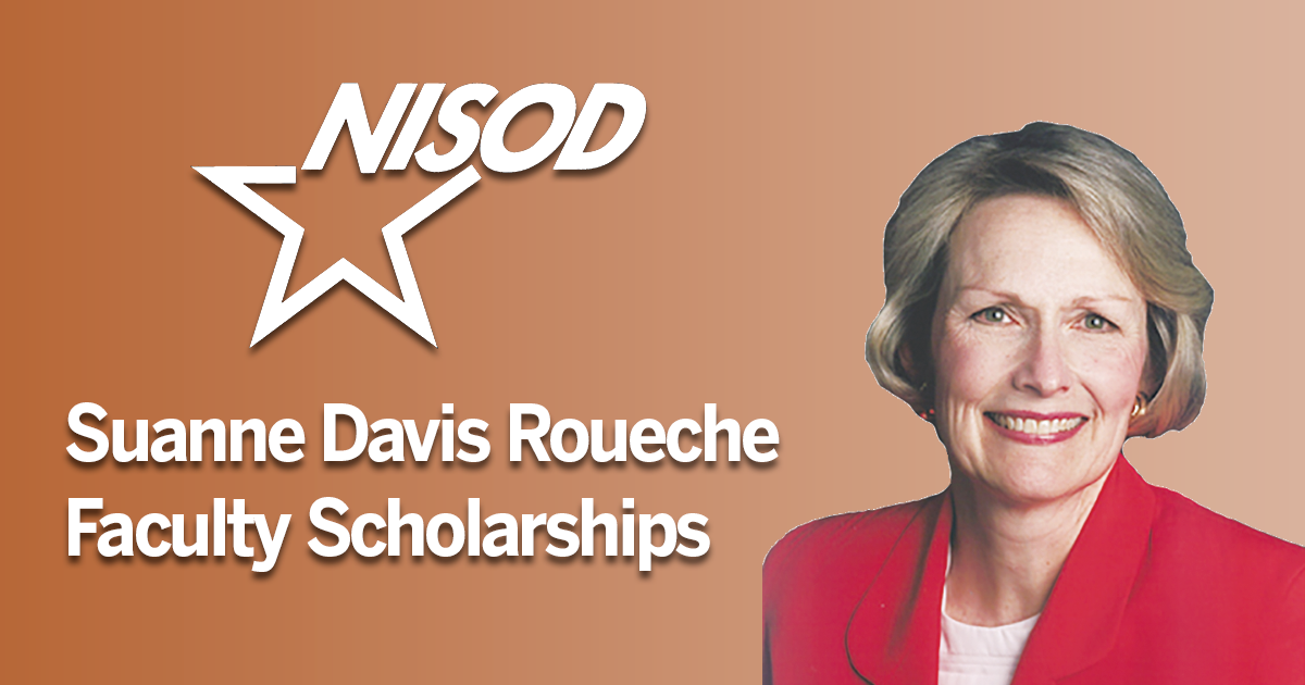 SDR Faculty Scholarships image