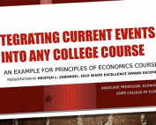 Integrating Current Events Into Any College Course preview