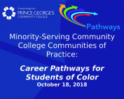 Career Pathways for Students of Color preview