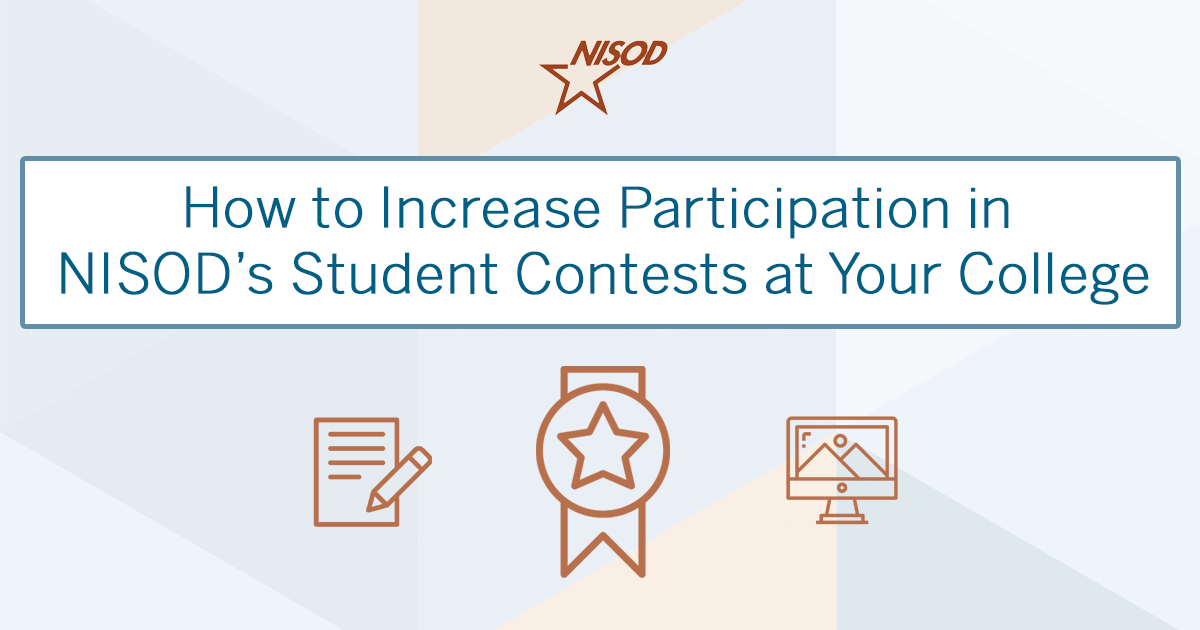 Participate in NISOD's Student Contests