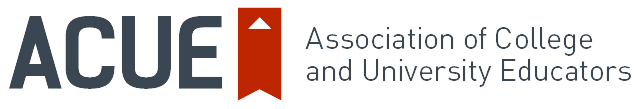 Association of College and University Educators logo