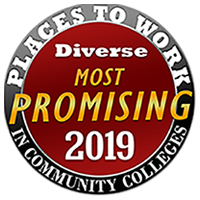 2019 Promising Places To Work In Community Colleges logo