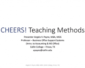 Cheers Teaching Methods Webinar Previews