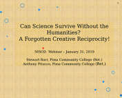 Can Science Survive Without the Humanities? preview