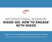Informational Webinar: NISOD 101: How to Engage With NISOD preview