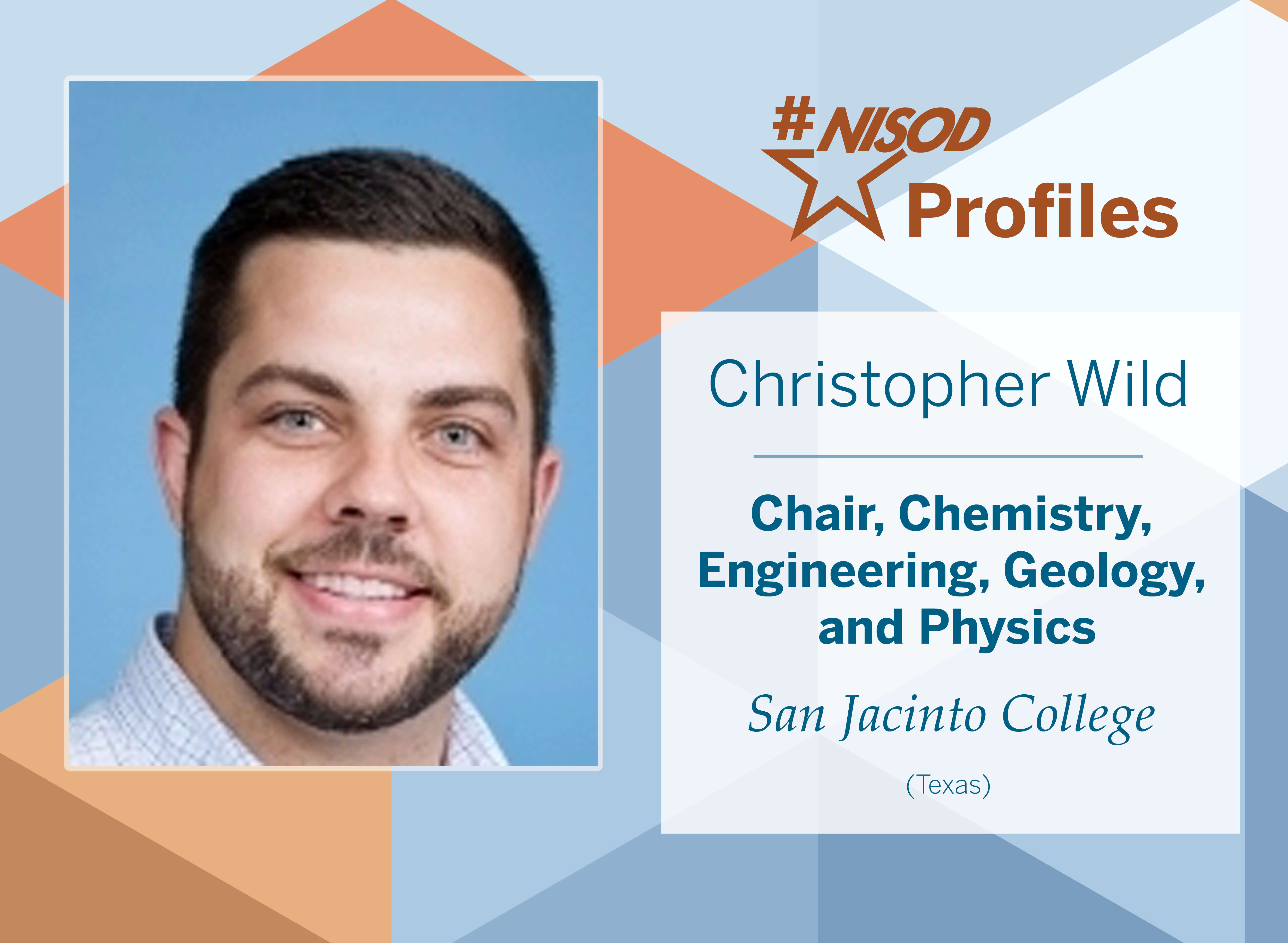 #NISODProfiles Christopher Wild