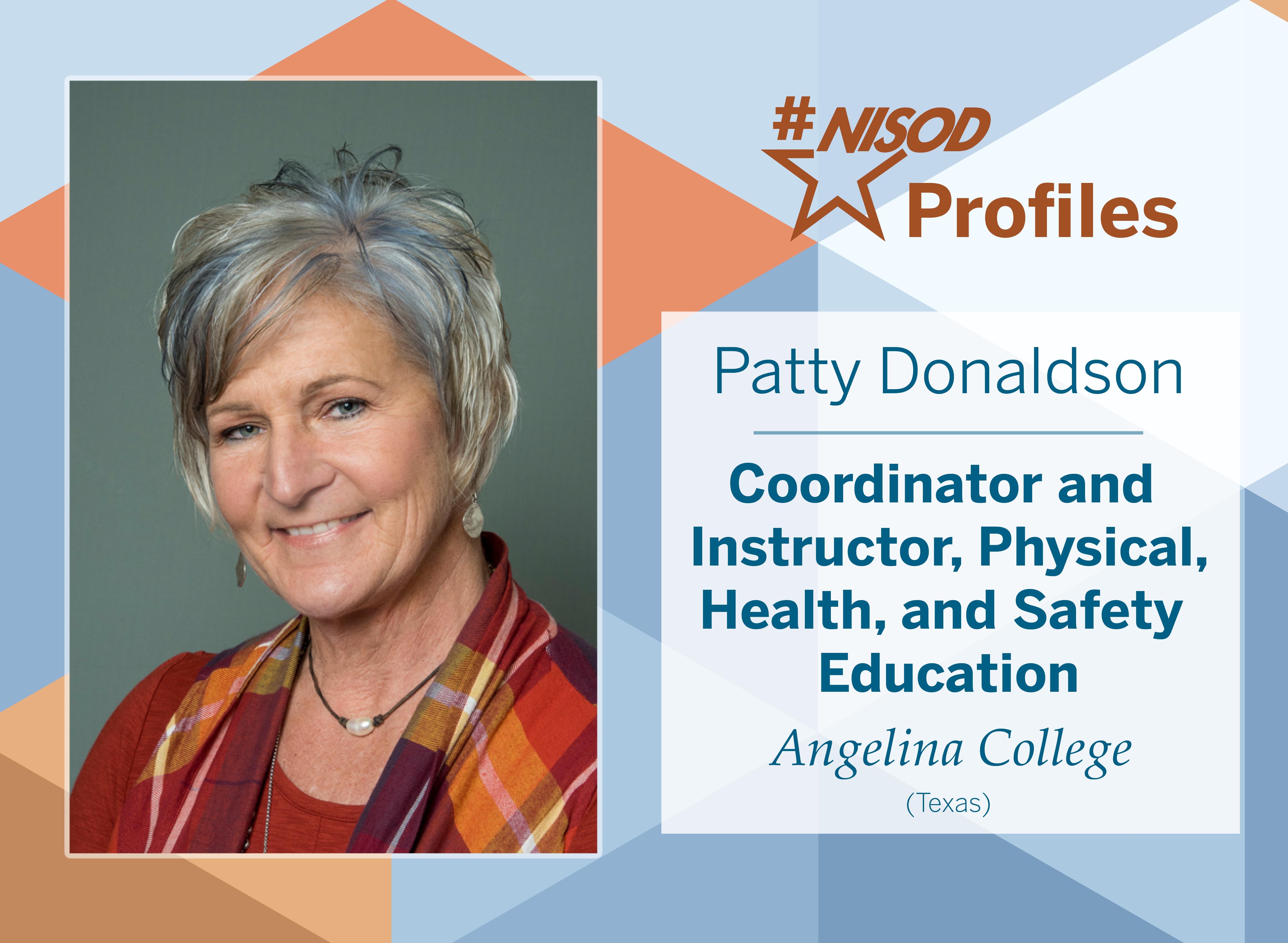 #NISODProfiles Patty Donaldson