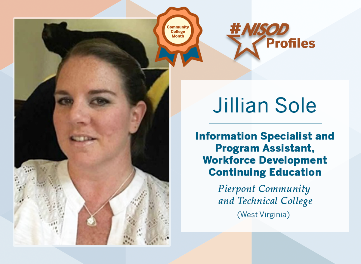 #NISODProfiles - JIllian Sole