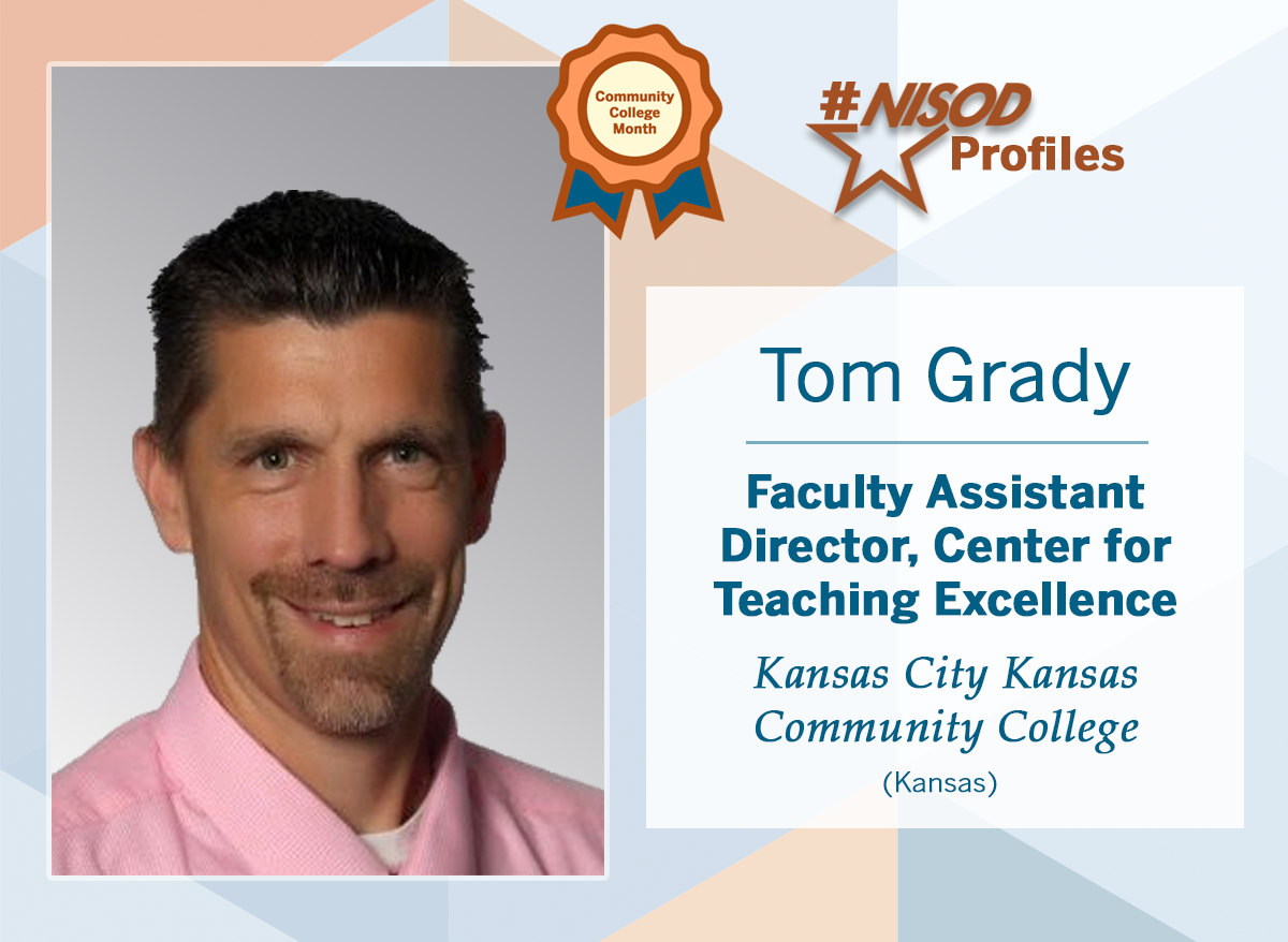 #NISODProfiles - Tom Grady
