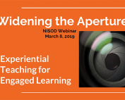 Widening the Aperture: Experiential Teaching for Engaged Learning preview