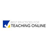 Best Practices for Teaching Online logo