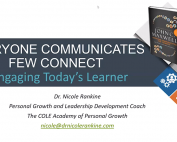 Everyone Communicates, but Few Connect: Effectively Engaging Today's Learner preview