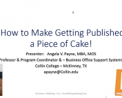 How to Make Getting Published a Piece of Cake preview