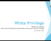 White Privilege preview