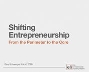 Shifting Entrepreneurship From the Perimeter to the Core preview