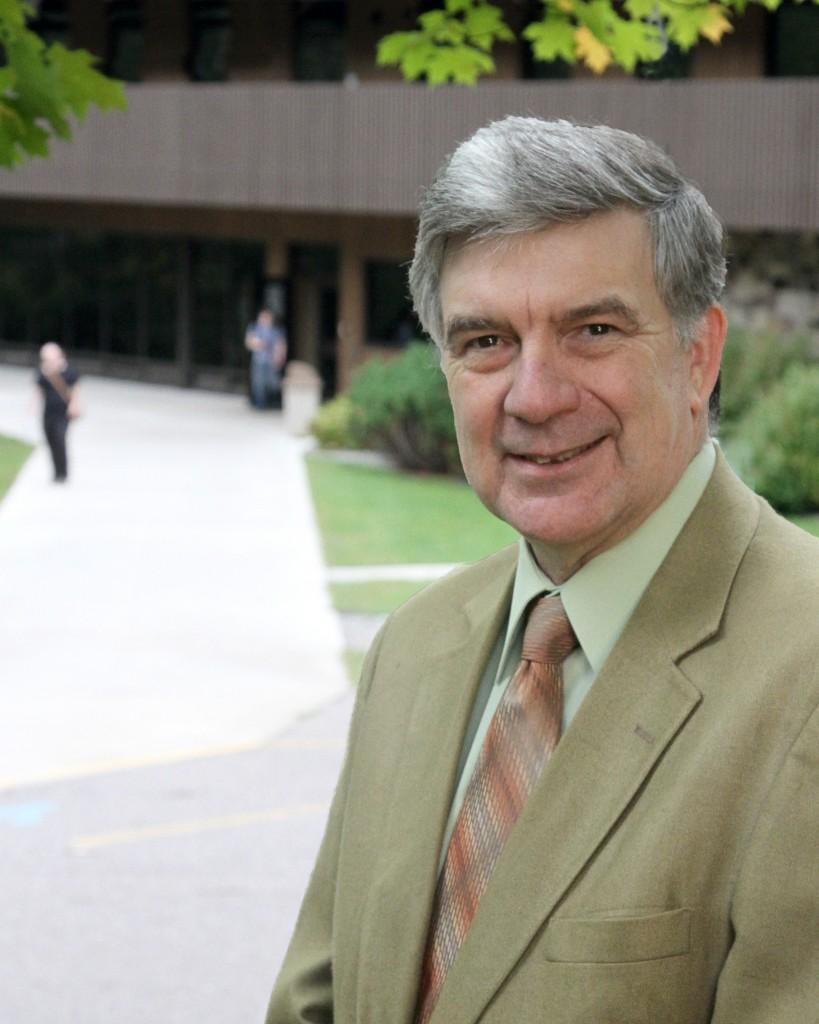 Nicolet President Richard Nelson