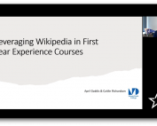 Leveraging Wikipedia in First-Year Interest Courses: A High-Impact Learning Model image