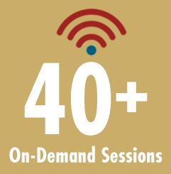 65 live sessions